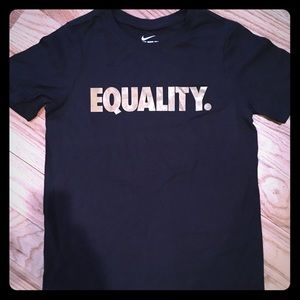 Tops - Women's Nike small EQUALITY tee